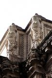 Detalhes das colunas de San Francisco Palace Of Fine Arts foto de stock royalty free