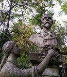 Detalhes das estátuas Fotos de Stock Royalty Free