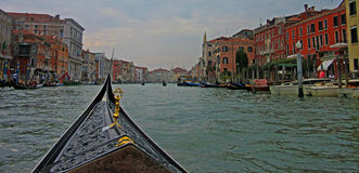 Detalhes das ruas de Veneza Foto de Stock