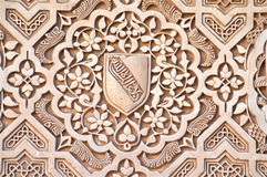 Detalhes de Alhambra Fotografia de Stock Royalty Free