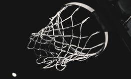 Detalhes de aro de basquetebol Foto de Stock