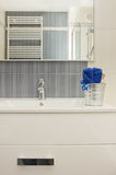 Detalhes de banheiro moderno Foto de Stock