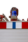 Detalhes de carro de bombeiros Imagem de Stock Royalty Free