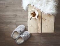 Detalhes de casa rústica Fotos de Stock Royalty Free