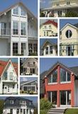 Detalhes de casas Fotos de Stock Royalty Free