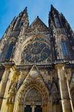 Detalhes de Castel em Praha/Praga Fotografia de Stock Royalty Free