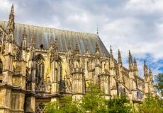 Detalhes de catedral de Orleans - França foto de stock royalty free