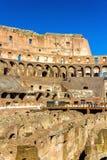 Detalhes de Colosseum ou Flavian Amphitheatre em Roma imagens de stock royalty free