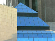 Detalhes de edifício moderno Fotografia de Stock