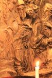 Detalhes de igreja de Nossa Senhora a Dinamarca Encarnacao em Lisboa foto de stock royalty free