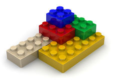 Detalhes de jogo de construção ilustração do vetor