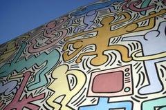 Detalhes de Keith Haring Foto de Stock Royalty Free