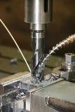 Detalhes de máquina de perfuração Fotografia de Stock
