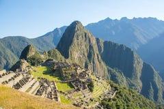 Detalhes de Machu Picchu Foto de Stock