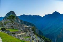 Detalhes de Machu Picchu Fotografia de Stock