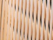 Detalhes de madeira da arquitetura da decoração interior do weave da parede Imagens de Stock