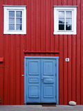 Detalhes de madeira da casa Imagens de Stock Royalty Free