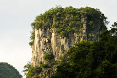 Detalhes de montanha do cársico Fotografia de Stock Royalty Free