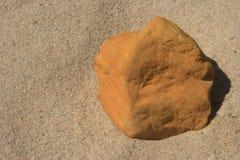 Detalhes de pedra na areia Foto de Stock
