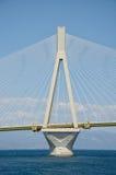 Detalhes de ponte de Charilaos Trikoupis foto de stock royalty free