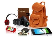 Detalhes de saco moderno para o homem Fotos de Stock