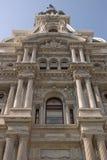 Detalhes de salão de cidade de Philadelphfia Imagens de Stock