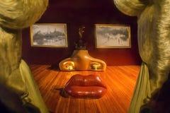 Detalhes de Salvador Dali Museum em Figueras Foto de Stock