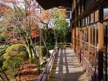 Detalhes de santuário xintoísmo em Kyoto, Japão Foto de Stock Royalty Free