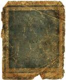 Detalhes de tampa de livro velho Fotos de Stock Royalty Free