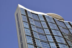 Detalhes de um edifício moderno Imagem de Stock