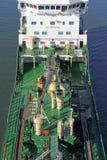Detalhes de um petroleiro Fotografia de Stock