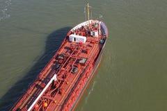 Detalhes de um petroleiro de óleo Fotografia de Stock Royalty Free