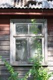 Detalhes de um summerhouse velho Fotos de Stock