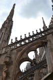 Detalhes de uma catedral gótico Fotografia de Stock Royalty Free