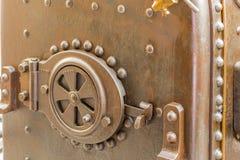 Detalhes de uma locomotiva de vapor Fotos de Stock