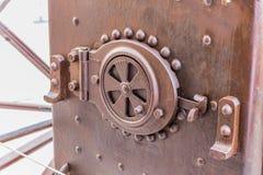 Detalhes de uma locomotiva de vapor Imagens de Stock