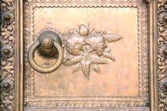 Detalhes de uma porta Fotografia de Stock Royalty Free
