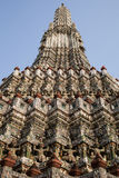 Detalhes de Wat Arun Imagens de Stock