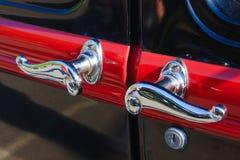 Detalhes do carro do vintage Foto de Stock