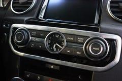 Detalhes do carro Detalhes do interior do carro imagem de stock royalty free