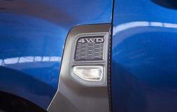 detalhes do carro 4x4 ou 4wd Imagem de Stock Royalty Free