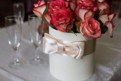 Detalhes do casamento Foto de Stock Royalty Free