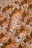 Detalhes do castelo de Aracena Fotos de Stock
