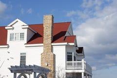 Detalhes do exterior da casa Imagens de Stock Royalty Free