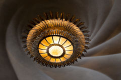 Detalhes do interior de Batllo da casa da casa de Antonio Gaudi Barcelona Imagem de Stock