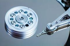 Detalhes do mecanismo de disco rígido Foto de Stock Royalty Free