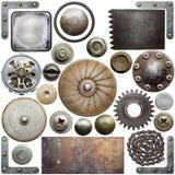 Detalhes do metal Fotos de Stock Royalty Free