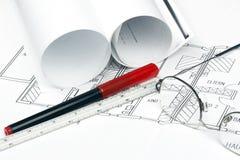 Detalhes do modelo Fotografia de Stock