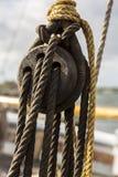 Detalhes do navio Fotos de Stock Royalty Free