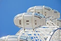 Detalhes do olho de Londres Imagens de Stock Royalty Free